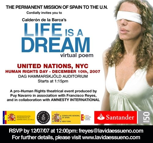 Life is a Dream - United Nations - 2008